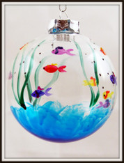 Hand-painted Fish Ornament