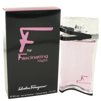 F For Fascinating Night By Salvatore Ferragamo 3 oz Eau De Parfum Spray for Women