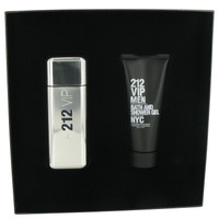 212 VIP By Carolina Herrera Gift Set with Shower Gel for Men