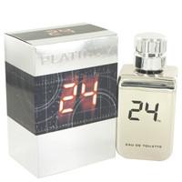 24 Platinum The Fragrance Jack Bauer By Scentstory 3.4 oz Eau De Toilette Spray for Men