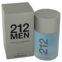 212 By Carolina Herrera 3.4 oz After Shave for Men