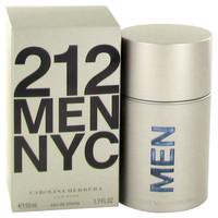 212 By Carolina Herrera 1.7 oz Eau De Toilette Spray (New Packaging) for Men