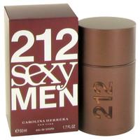 212 Sexy By Carolina Herrera 1.7 oz Eau De Toilette Spray for Men