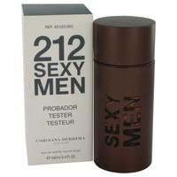 212 Sexy By Carolina Herrera 3.3 oz Tester Eau De Toilette Spray for Men