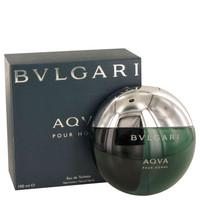 Aqua Pour Homme By Bvlgari 3.3 oz Eau De Toilette Spray for Men