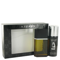 Azzaro By Loris Azzaro Gift Set with Deodorant Spray for Men