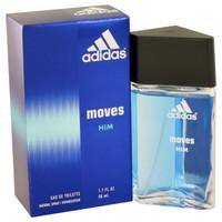 Moves By Adidas 1.7 oz Eau De Toilette Spray for Men