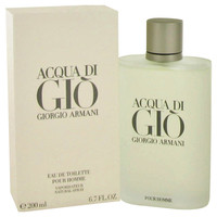Acqua Di Gio By Giorgio Armani 6.7 oz Eau De Toilette Spray for Men