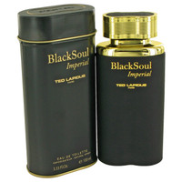 Black Soul Imperial By Ted Lapidus 3.33 oz Eau De Toilette Spray for Men