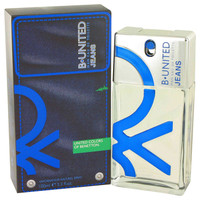 B United Jeans By Benetton 3.3 oz Eau De Toilette Spray for Men