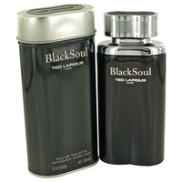 Black Soul By Ted Lapidus 3.4 oz Eau De Toilette Spray for Men