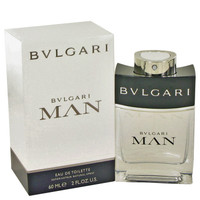 Man By Bvlgari 2 oz Eau De Toilette Spray for Men