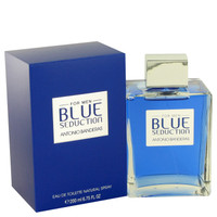Blue Seduction By Antonio Banderas 6.7 oz Eau De Toilette Spray for Men