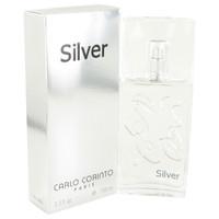 Silver By Carlo Corinto 3.4 oz Eau De Toilette Spray for Men
