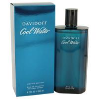 Cool Water By Davidoff 6.7 oz Eau De Toilette Spray for Men