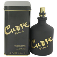 Curve Black By Liz Claiborne 4.2 oz Cologne Spray for Men
