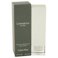 Contradiction By Calvin Klein 1.7 oz Eau De Toilette Spray for Men