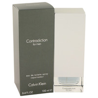 Contradiction By Calvin Klein 3.4 oz Eau De Toilette Spray for Men