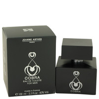 Cobra By Jeanne Arthes 3.3 oz Eau De Toilette Spray for Men