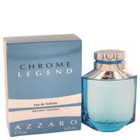 Chrome Legend By Azzaro 2.6 oz Eau De Toilette Spray for Men
