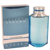 Chrome Legend By Azzaro 4.2 oz Eau De Toilette Spray for Men