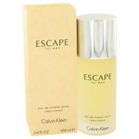 Escape By Calvin Klein 3.4 oz Eau De Toilette Spray for Men