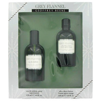 Grey Flannel By Geoffrey Beene Gift Set with Eau De Toilette Spray for Men