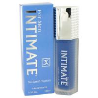 Intimate Blue By Jean Philippe 3.4 oz Eau De Toilette Spray for Men