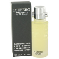 Twice By Iceberg 4.2 oz Eau De Toilette Spray for Men