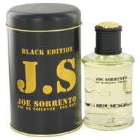 Joe Sorrento Black By Jeanne Arthes 3.3 oz Eau De Toilette Spray for Men