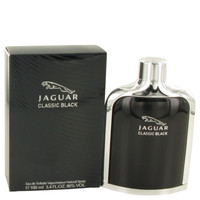 Classic Black By Jaguar 3.4 oz Eau De Toilette Spray for Men