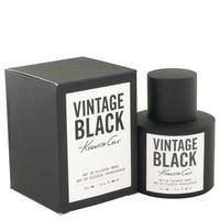 Vintage Black By Kenneth Cole 3.4 oz Eau De Toilette Spray for Men