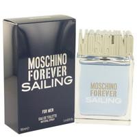 Forever Sailing By Moschino 3.4 oz Eau De Toilette Spray for Men