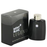 Legend By Mont Blanc 0.15 oz Mini EDT for Men