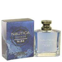 Voyage N-83 By Nautica 3.4 oz Eau De Toilette Spray for Men