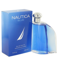Blue By Nautica 3.4 oz Eau De Toilette Spray for Men