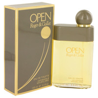 Open By Roger & Gallet 3.4 oz Eau De Toilette Spray for Men