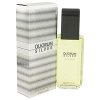 Quorum Silver By Puig 3.4 oz Eau De Toilette Spray for Men