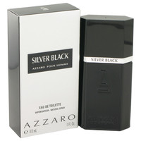 Silver Black By Loris Azzaro 1 oz Eau De Toilette Spray for Men