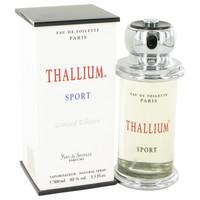 Thallium Sport By Parfums Jacques Evard 3.4 oz Eau De Toilette Spray (Limited Edition) for Men