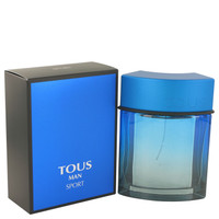 Man Sport By Tous 3.4 oz Eau De Toilette Spray for Men