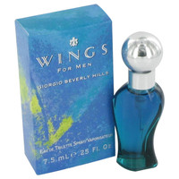 Wings By Giorgio Beverly Hills .25 oz Mini EDT Spray for Men