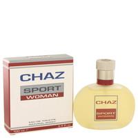 Chaz Sport By Jean Philippe 3.4 oz Eau De Toilette Spray for Women