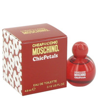 Cheap & Chic Petals By Moschino .15 oz Mini EDT for Women
