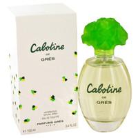 Cabotine By Parfums Gres 3.3 oz Eau De Toilette Spray for Women