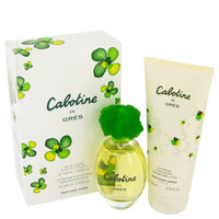 Cabotine By Parfums Gres Gift Set with Body Lotion for Women