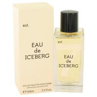 Eau De Iceberg By Iceberg 3.3 oz Eau De Toilette Spray for Women
