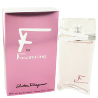F For Fascinating By Salvatore Ferragamo 3 oz Eau De Toilette Spray for Women