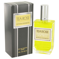 Tea Rose By Perfumers Workshop 4 oz Eau De Toilette Spray for Women