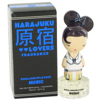 Harajuku Lovers Music By Gwen Stefani .33 oz Eau De Toilette Spray for Women